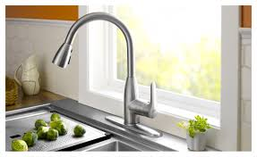 waterfall kitchen faucet brushed nickel kitchen faucet lowes bathroom sink faucets satin