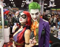 The Joker And Harley Quinn Halloween Costumes Harley Quinn U0026 Joker Costumed Pinterest