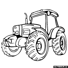 vehicle coloring pages 1