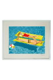 barbie ken pool framed print 17
