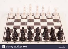 how to set up chess table chess board set up to begin a game stock photo 91437164 alamy