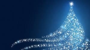 shiny tree magical lights