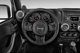 jeep steering wheel emblem 2016 jeep wrangler unlimited reviews and rating motor trend