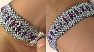 bracelet tutorials youtube images Potawatomi stitch bracelet variation jpg