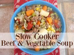 slow cooker beef u0026 vegetable soup youtube
