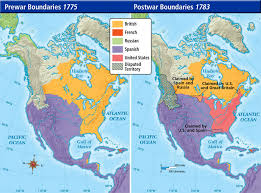 america map before and after and indian war us history maps
