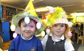 easter bonnets montgomery easter bonnet parade is success gazette