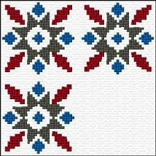 9 cross stitch border patterns