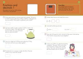 10 minutes a day problem solving ks2 ages 9 11 maths made easy