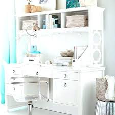 White Desk With Hutch And Drawers White Storage Desk White Desk White Wood Desk Hutch Storage