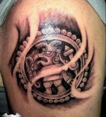 62 best aztec tattoos images on pinterest aztec tattoo designs