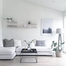 white livingroom 30 home decor minimalist idea monochrome color clean design