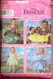 Patterns Halloween Costumes Simplicity 5402 Toddler Disney Princess Halloween Costume Pattern