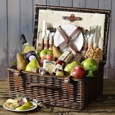picnic basket ideas decorating ideas looking brown rattan picnic basket as