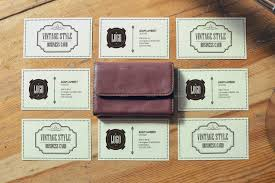 realistic vintage business card mockups by xepeec graphicriver