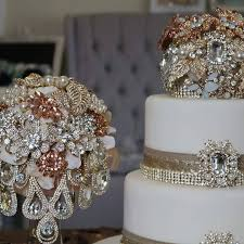 wedding cake jewelry collections couture jewelry bouquets