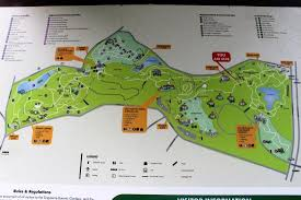 Singapore Botanic Gardens Location Map Of The Botanic Garden Picture Of Singapore Botanic Gardens