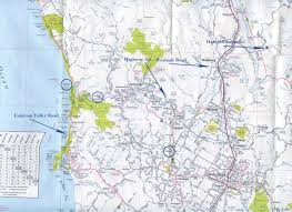 Trip Map Sonoma Coast Day Trip Hafner Vineyard