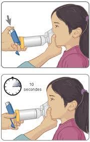 chambre d inhalation ventoline asthme bpco comment prendre mon traitement