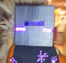 Minecraft Enderman Halloween Costume Diy Minecraft Enderman Costume