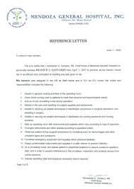 rn letter of recommendation sample nurse recommendation letter images letter samples format