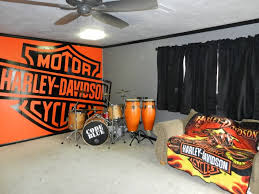 Harley Davidson Flags Wall Decal Design Personalized Customize Large Vinyl Logo Harley