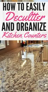 How To Organize Kitchen by How To Organize Kitchen Counters