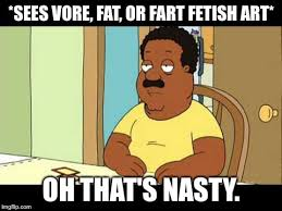 Cleveland Brown Memes - cleveland brown that s nasty meme by wcher999 on deviantart