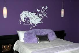 wandgestaltung schlafzimmer lila gut aussehend schlafzimmer lila streichen farben im wandfarbe