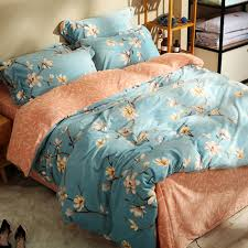 online get cheap orange blue bedding aliexpress com alibaba group
