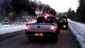 diesel jeep rollin coal 6 5 turbo diesel rollin coal youtube