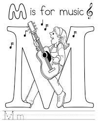 music coloring pages free printable kids coloring
