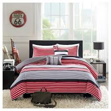 Red And Grey Comforter Red Comforters Target