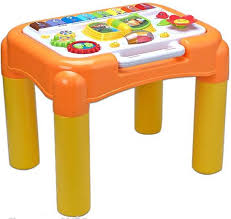 goappugo multipurpose activity table baby birthday gift for 1