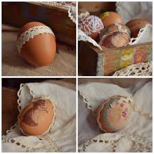 Easter Eggs Decorated With Paper Napkins by Easter Eggs A Kingdom For A Cake