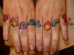 45 rainbow tattoos for the colourful you rainbow tattoos finger