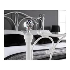 lpd florence bed frame in white single furniture123
