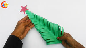 diy how to make paper christmas tree paper christmas tree