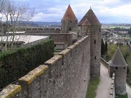Carcassonne File Carcassonne City Walls Of The Fortified City Jpg