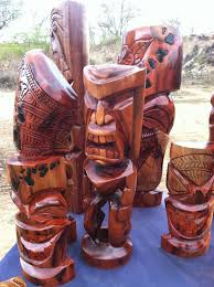 let s talk wood hawaiian tiki carving