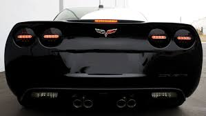 black led tailights for c6 and z06 corvettes 2005 2011