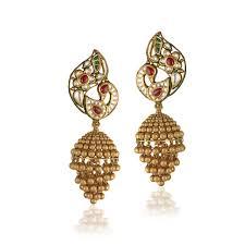 gold jhumka earrings design wedding gold jhumka designs gold bridal jhumka designs jhumka