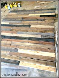 mixed wood wall easy cheap diy ideer
