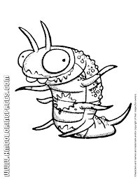 trash pack coloring 4 u0026 coloring pages