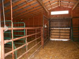 Barn Plans by Donn Show Cattle Barn Plans 8x10x12x14x16x18x20x22x24