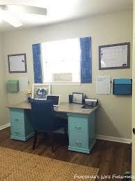 Diy Desk With File Cabinets Diy Filing Cabinet Desk Hometalk