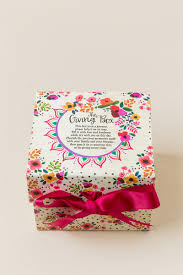 floral gift box pink floral gift box s