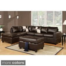 Leather Sofa With Chaise Sectional Leather Sofas Indeliblepieces