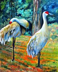 anfinsen arts alive sandhill cranes on the chopping block