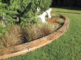 10 garden edging ideas with wood for an earthy garden garden